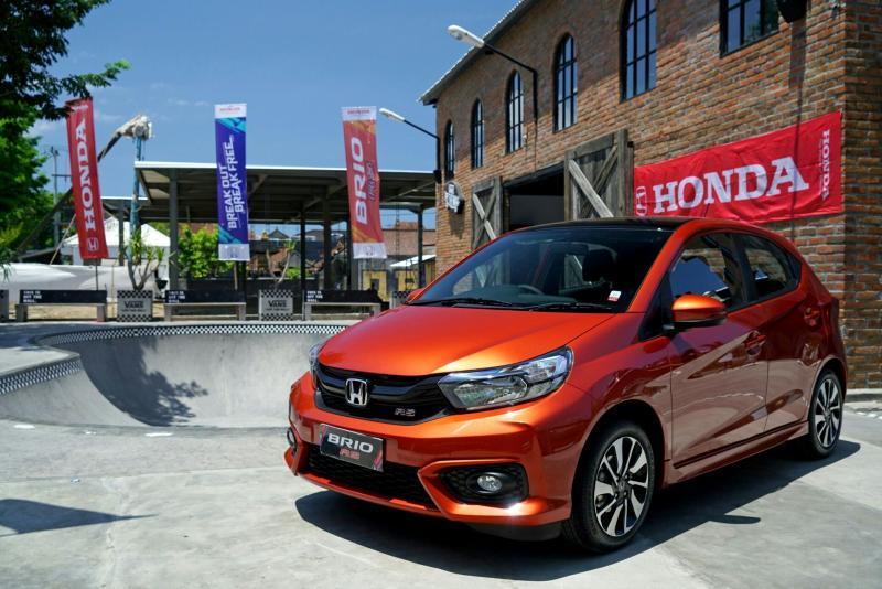 Honda Brio masih menjadi ujung tombak penjualan PT Honda Prospect Motor pada Juli 2019