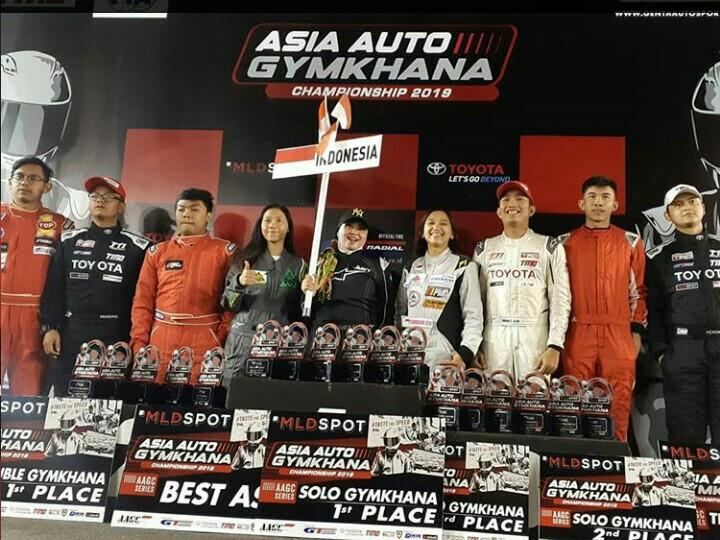 Indonesia sapu bersih 3 gelar juara 3 kelas AAGC Yogyakarta. (foto : bs)