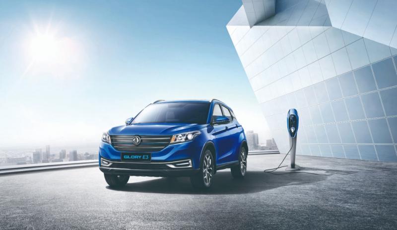 Glory E3, SUV listrik DFSK tampil perdana di GIIAS 2019