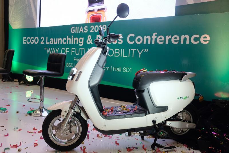 Motor listrik EC-GO Bike, tawarkan desain futuristik dan harga kompetitif