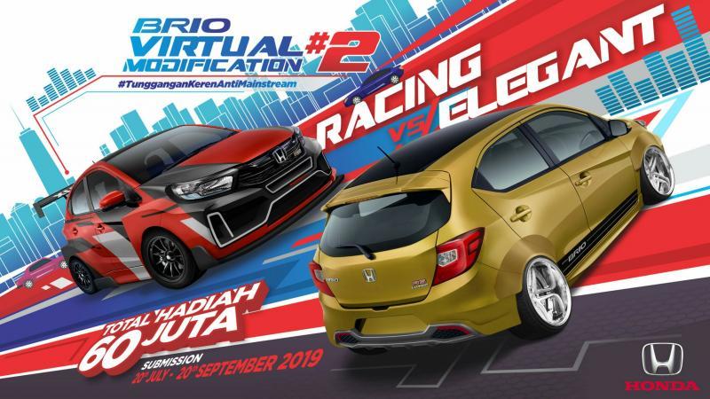 Honda Brio Virtual Modification kembali digelar untuk kedua kalinya