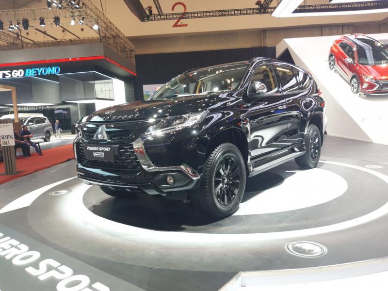 Mitsubishi PAJERO SPORT Rockford Fosgate Black Edition mejeng di GIIAS 2019