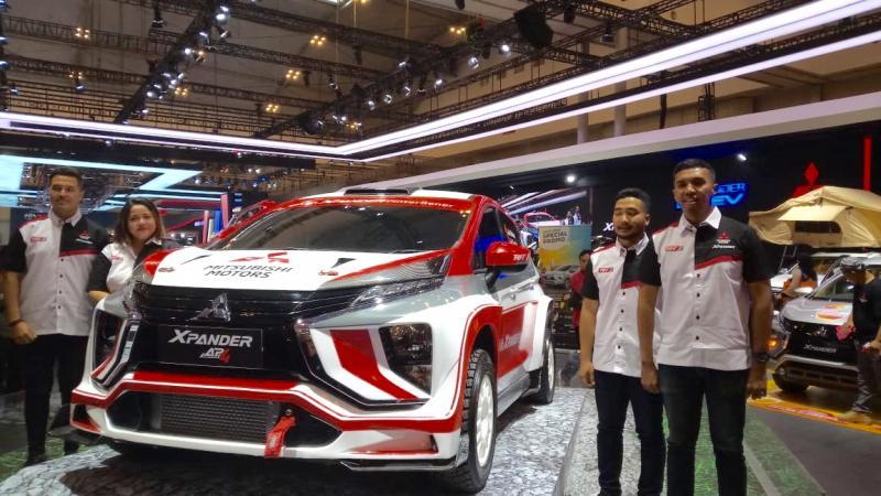 XPANDER Rally Team siap panaskan ajang rally nasional dan internasional