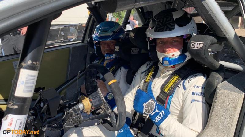 Valtteri Bottas, dari kokpit Formula One ke kokpit mobil reli. (Foto: gptoday)