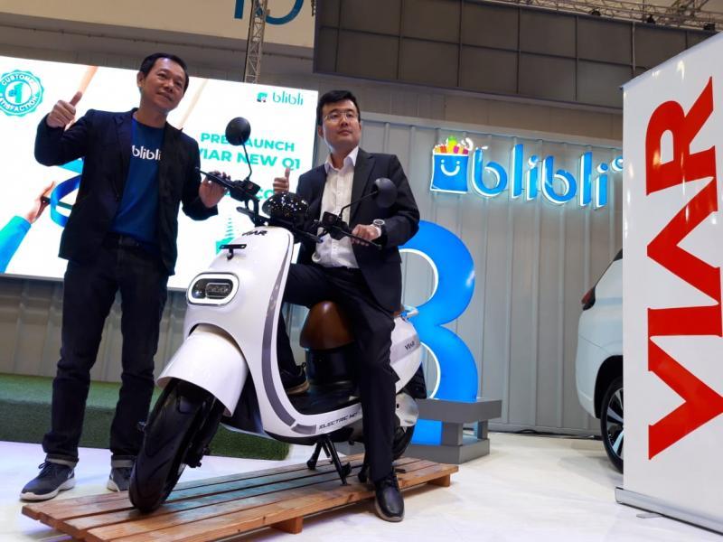 Blibli.com Jalin Kerjasama Eksklusif dengan Viar Motors Indonesia