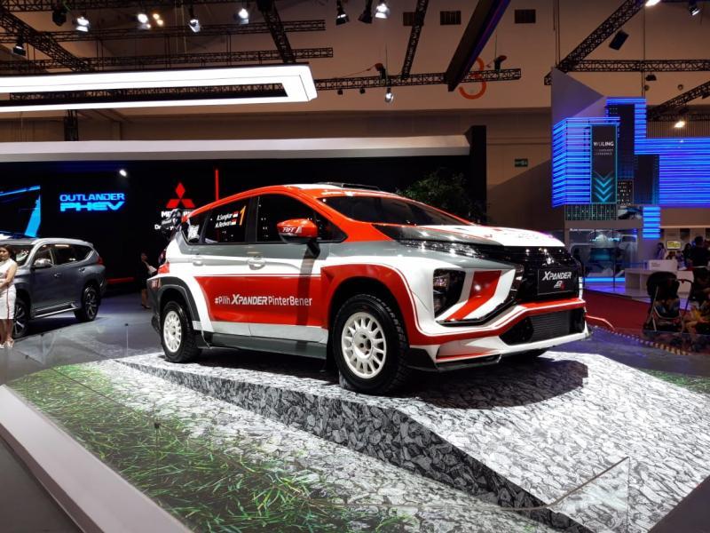 Mitsubishi XPANDER AP4 siap berkompetisi di ajang rally nasional dan internasional