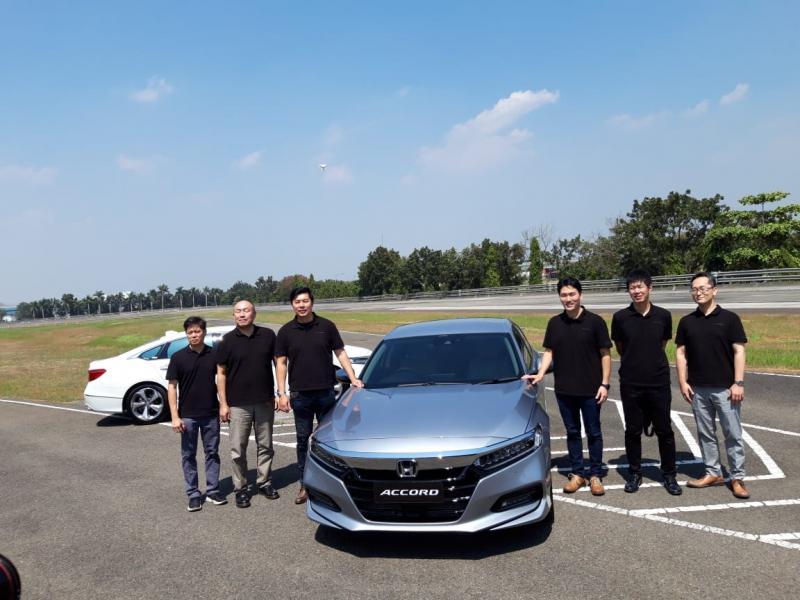 Sirkuit Bridgestone jadi arena pengujian Honda Sensing All New Accord