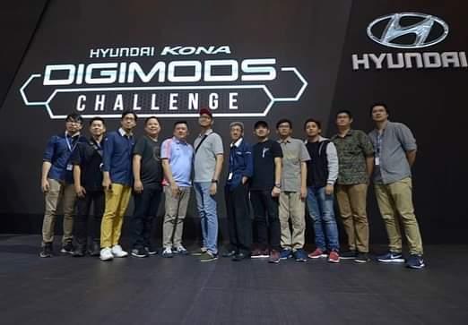 Para juri pun telah memilih 6 (enam) pemenang dari kategori digital dan sketsa Hyundai Kona Digimods Challenge. (dok. Hyundai)