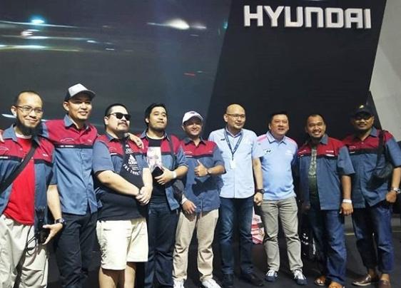 Selain mengundang pada saat momen perhelatan akbar seperti GIIAS 2019 ini, PT HMI pun kerap mengajak serta para komunitas ini dalam acara tertentu. (dok. Hyundai).