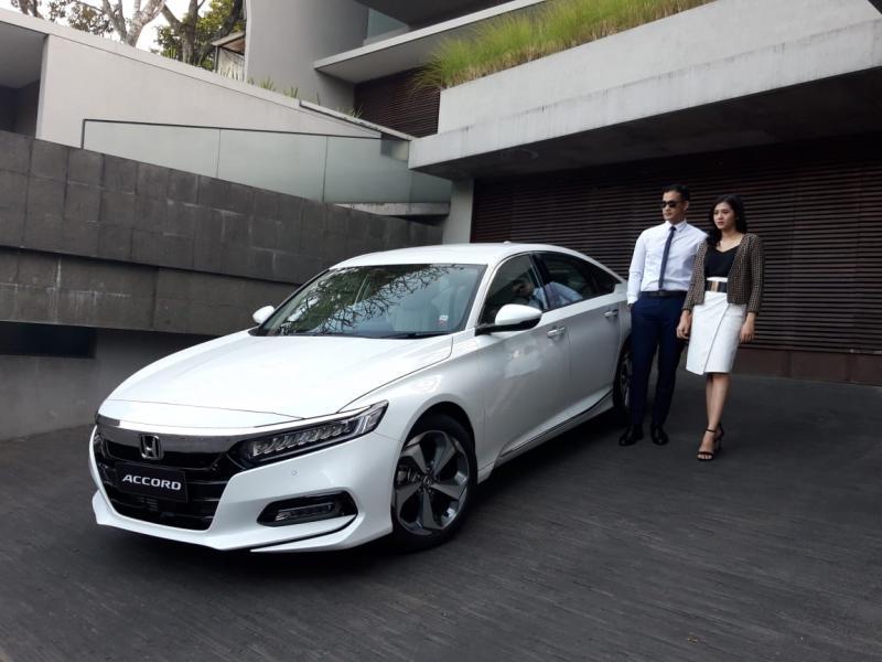 All New Honda Accord, model pertama yang mengusung fitur Honda Sensing