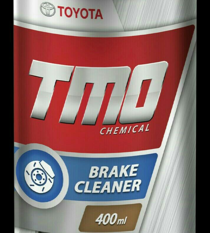 TMO brake cleaner untuk membersihkan komponen pengereman mobil Toyota