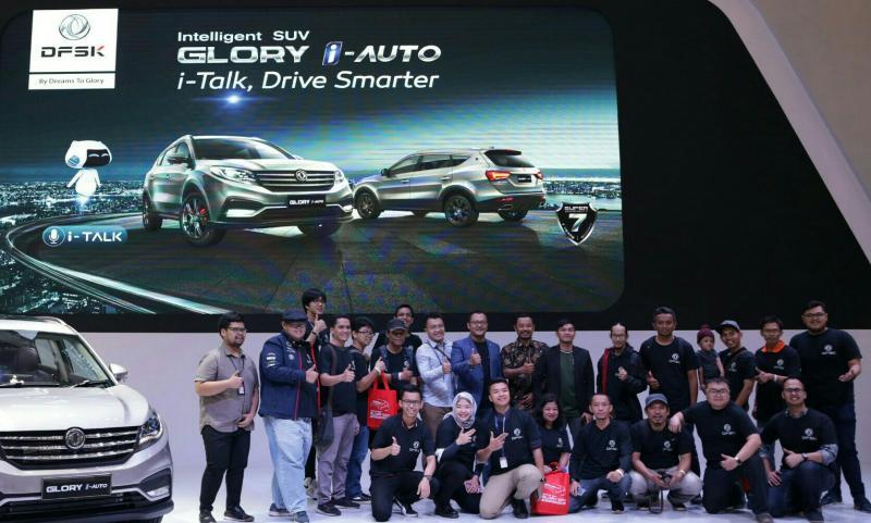 Blogger dan youtuber terkesima dengan terhadap kecanggihan DFSK Glory i-Auto