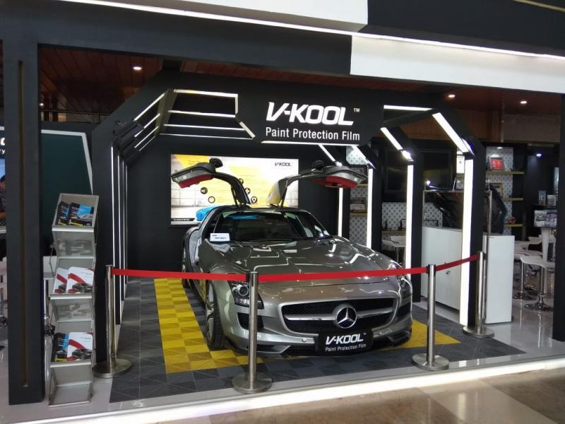 V-Kool Paint Protection Film (PPF), produk premium kualitas tinggi yang ditujukan untuk perlindungan bodi mobil. (anto)