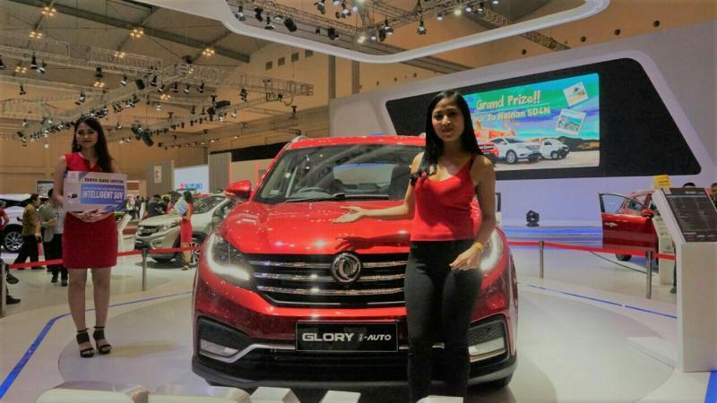 Rally Marina kesengsem dengan mobil pintar DFSK Glory i-Auto