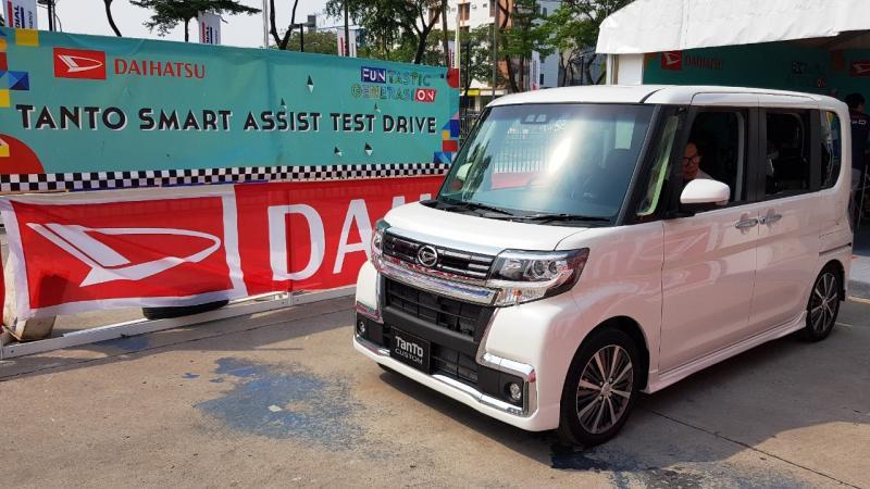 Daihatsu Tanto dilengkapi fitur keselamatan Smart Assist