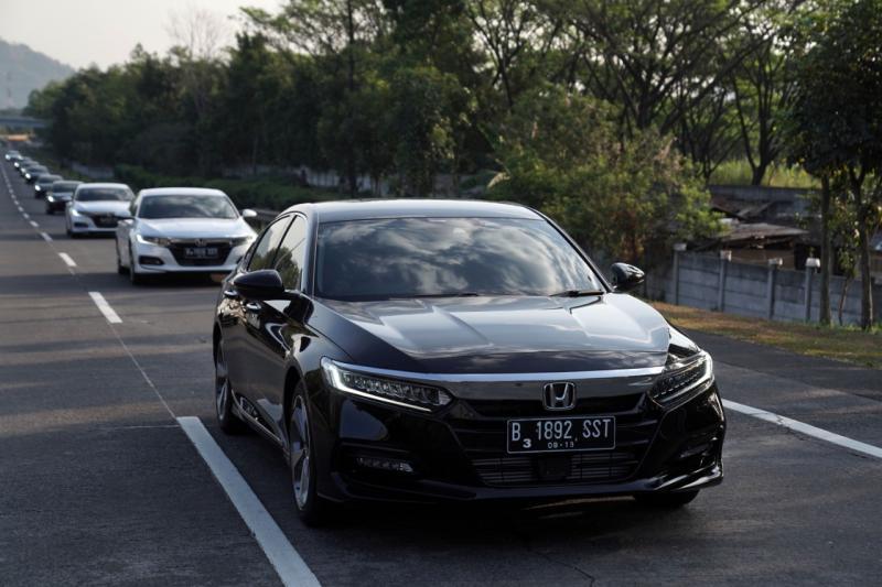 All New Honda Accord dilengkapi fitur keamanan yang diberi nama Honda Sensing