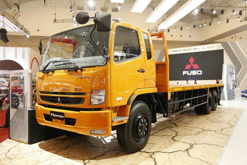 Mitsubishi Fuso mencetak SPK tertinggi sepanjang pameran otomotif digelar