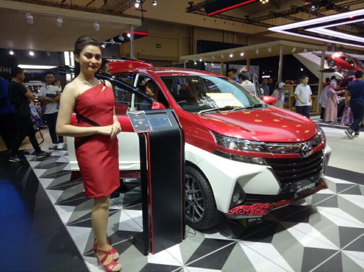 New Avanza masih menempati ranking satu SPK Toyota di GIIAS 2019. (foto : bs)