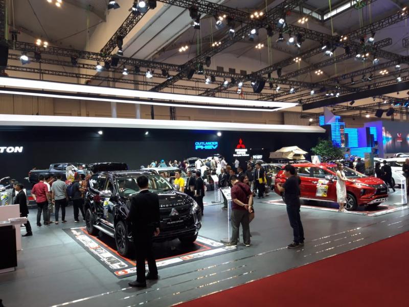 Mitsubishi raih capaian positif di GIIAS 2019