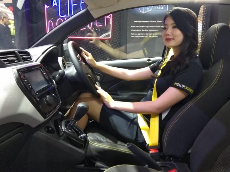 Keseruan yang dihadirkan Datsun ternyata masih berlanjut setelah GIIAS 2019. (anto)