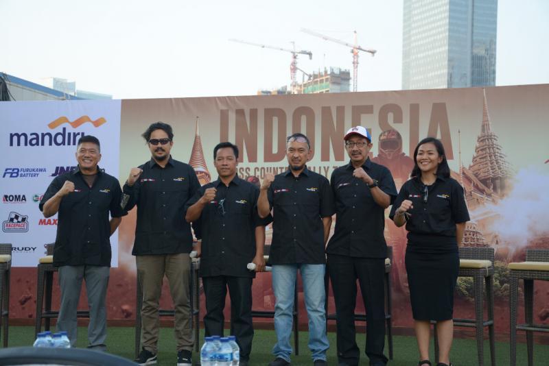 Indonesia Cross Country Rally Team siap berlaga di AXCR 2019 yang akan berlangsung di Thailand dan Myanmar