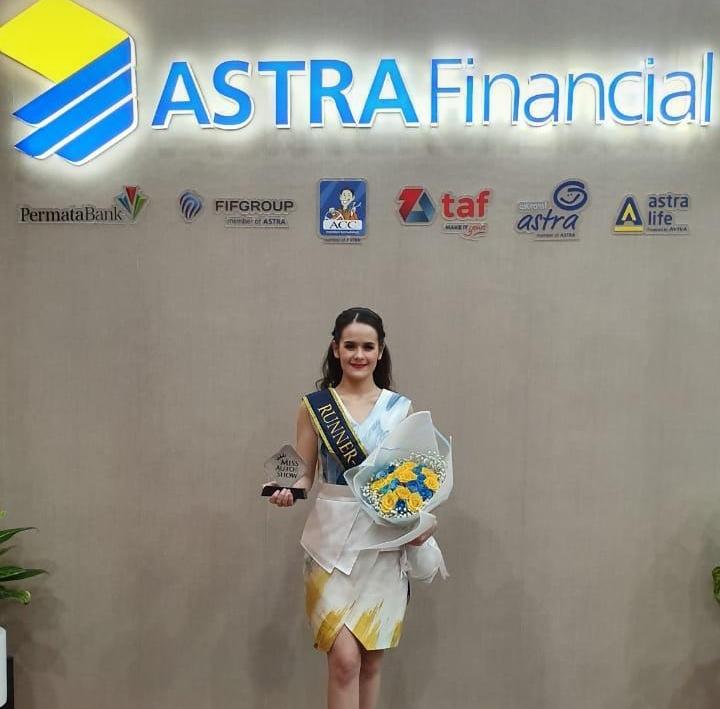 Claudia saat ini adalah Mahasiswi Jurusan Psikologi Universitas Katolik Atmajaya Jakarta, dan baru pertama kalinya mengikuti ajang pemilihan seperti ini. (dok. Astra Financial)