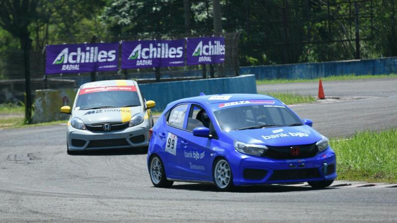 Persaingan di Honda Brio Speed Challenge seri 3 bakal ketat dan panas akhir pekan ini di sirkuit Sentul