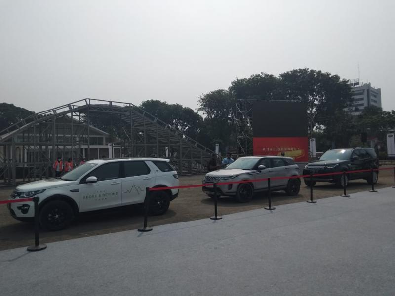 Program test drive global Land Rover ini kembali digelar pada 2-3 Agustus 2019 di Area Parkir Hall Basket GBK Senayan, Jakarta. (anto)