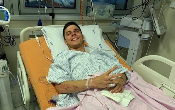 Joan Mir masih dirawat di RS pasca kecelakaan di Sirkuit Brno, Ceko (ig/joanmir36official)