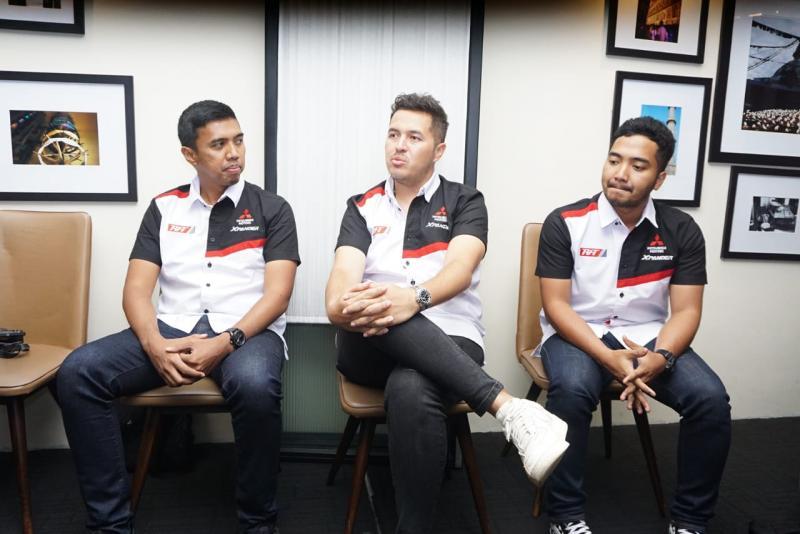Xpander Rally Team siap tampil di Rally New Zealand