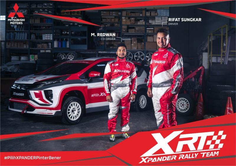 Xpander Rally Team, gebrakan baru Rifat Sungkar, mobil MPV dipakai Rally