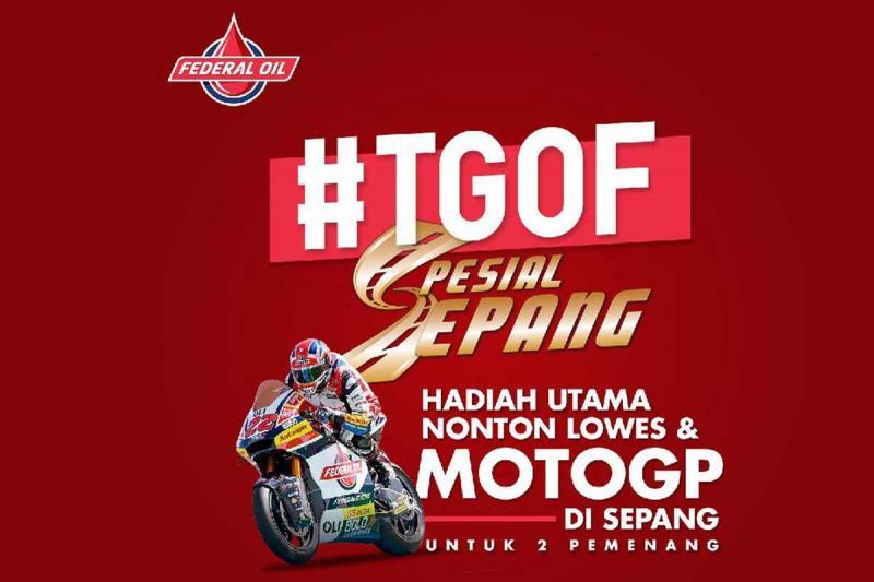 TGOF Federal Oil berhadiah nonton MotoGP di Sepang