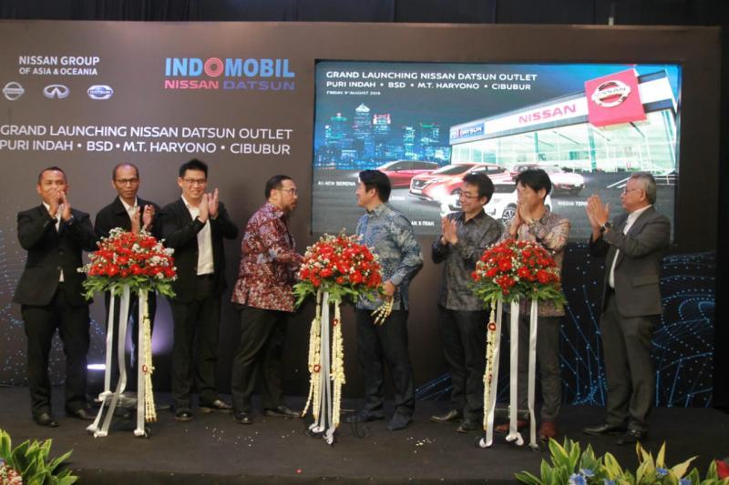 Keempat diler yang mengadopsi Nissan Retail Concept ini dikelola Indomobil Nissan Datsun sejak 1995. (dok. Nissan)