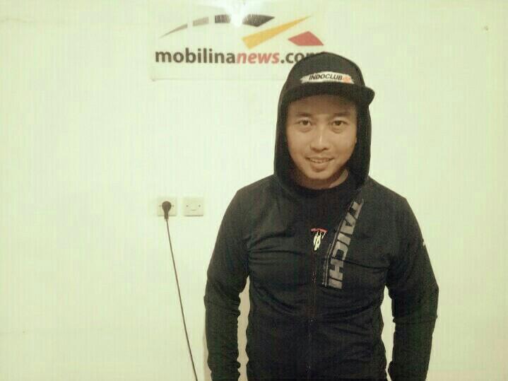 Deny Wajong, siap ramaikan Night Race ISSOM dengan paket balap MiniGP di Paddock Sentul Circuit. (foto : bs)