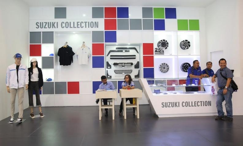 selama Januari hingga Juni 2019, jumlah permintaan spare parts atau suku cadang dan aksesoris original Suzuki terus tumbuh positif dan siginifikan. (dok. Suzuki)
