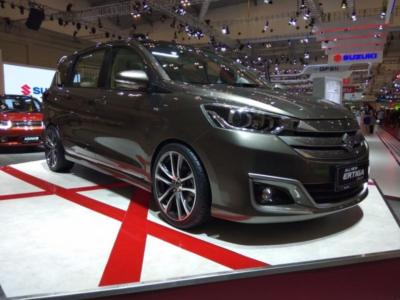 Ilustrasi: All New Suzuki Ertiga Luxury Concept di ajang GIIAS 2019 lalu. (anto)