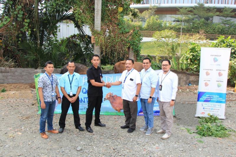Prosesi dilaksanakan pada hari Senin, 12 Agustus 2019 di Lapangan Basket Lt B1, Menara FIFGROUP, Cilandak, Jakarta Selatan. (dok. FIF)