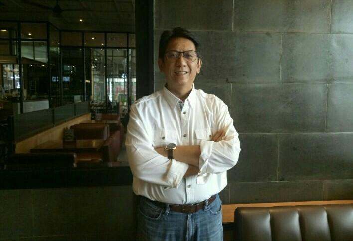 Paul F Montolalu, gelar event drift dengan tantangan baru di Indonesia. (foto : bs)