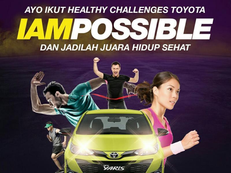 Toyota ajak masyarakat hidup sehat dengan gelar 2 acara di FX Plaza Senayan Jakarta