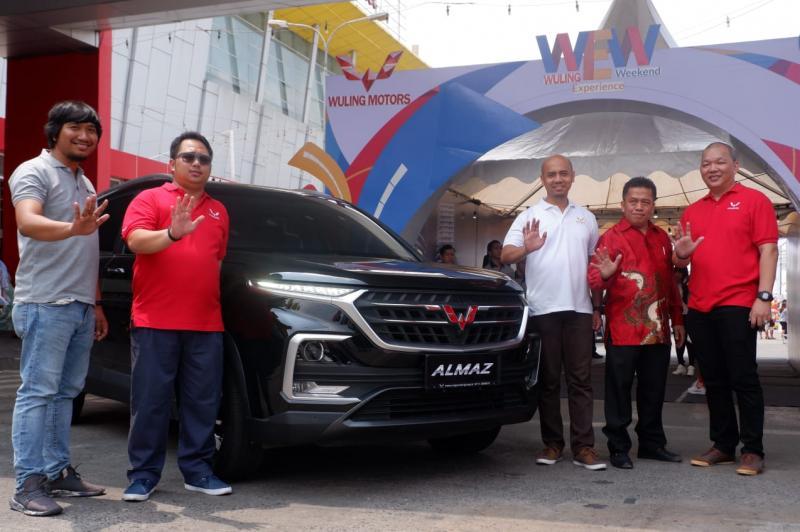 Wuling Motors (Wuling) bekerja sama dengan PT Maju Global Motor menghadirkan teknologi terbaru di Kota Palembang. (dok. Wuling)