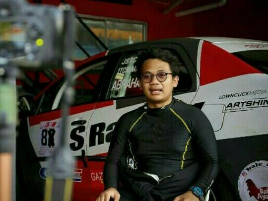 Abraham Franklin Nadeak, pakai senjata baru untuk ISSOM Night Race