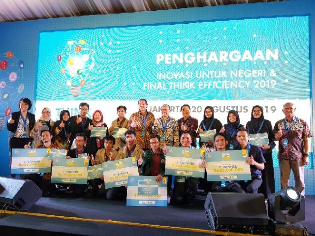 Atas prestasinya tersebut, masing-masing pemenang berhak memperoleh hadiah sebesar Rp35 juta dan kunjungan ke Shanghai Technologi Center di tahun 2020. (dok. Shell)