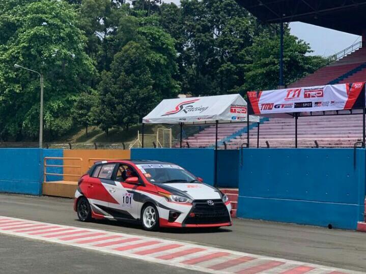 Toyota Yaris menjadi andalan Mirza Putra Utama di kelas JSTC dan ITCR Max di Sentul.