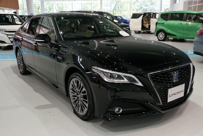 All New Toyota Crown diklaim menawarkan penanganan yang luar biasa dan kinerja yang responsif. (ist)
