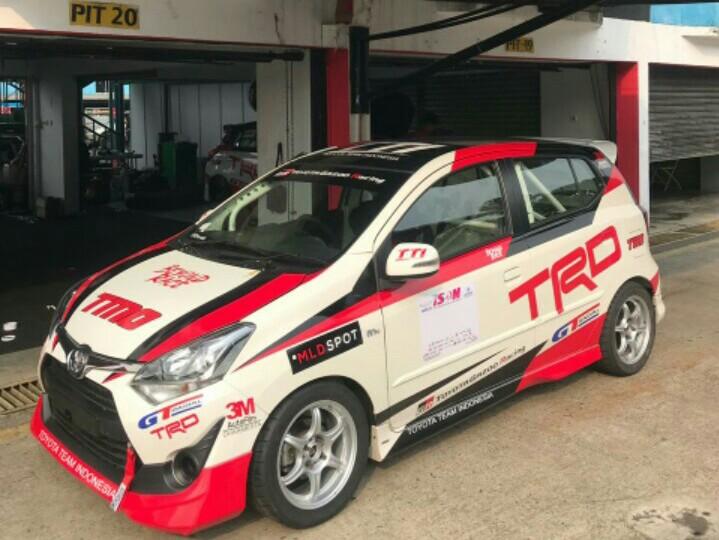 Toyota New Agya 1200 siap ramaikan persaingan di kelas ITCR ISSOM 2019