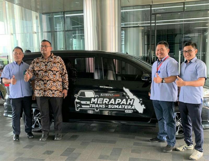 Suzuki New Ertiga menjadi andalan Perjalanan Merapah Trans Sumatera 2019