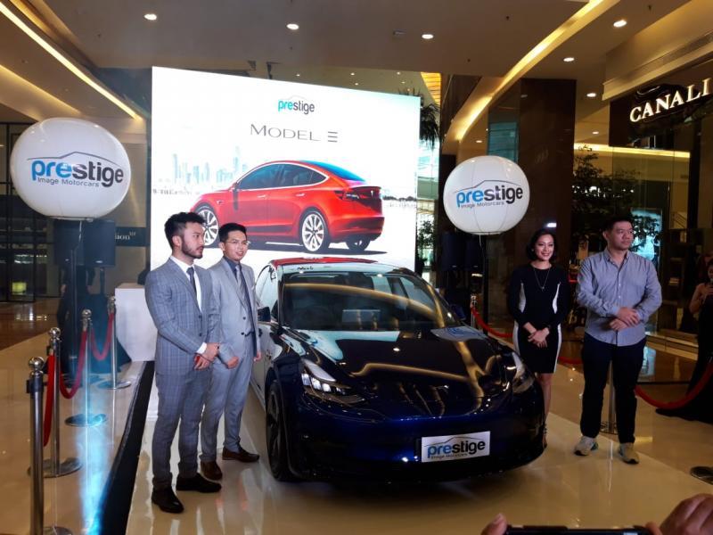 Importir umum Prestige boyong Tesla Model 3 ke Indonesia