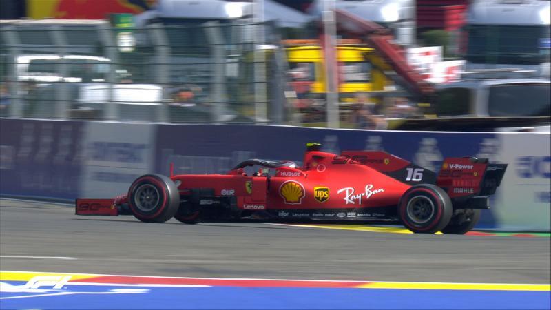 Pole ketiga Charles Leclrec musim 2019, incar kemenangan perdana Ferrari tahun ini. (Foto: f1.com)