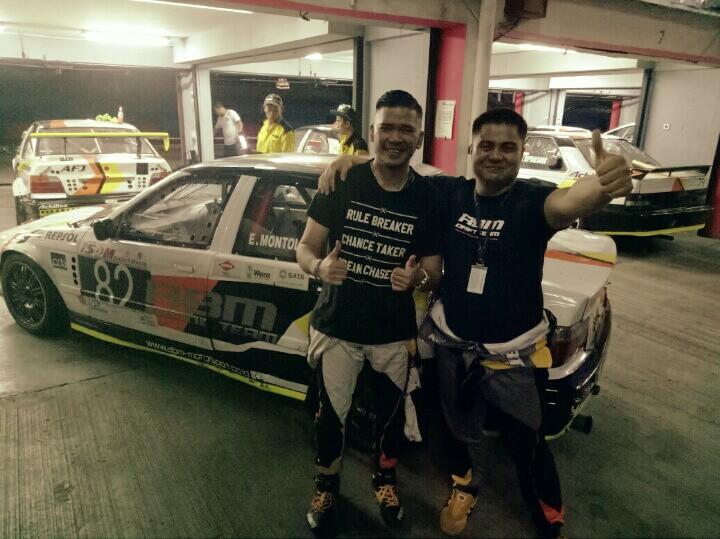 Eric Montolalu dan Valentino Ratulangi, lecutan semangat ala Paul Montolalu (foto : bs)