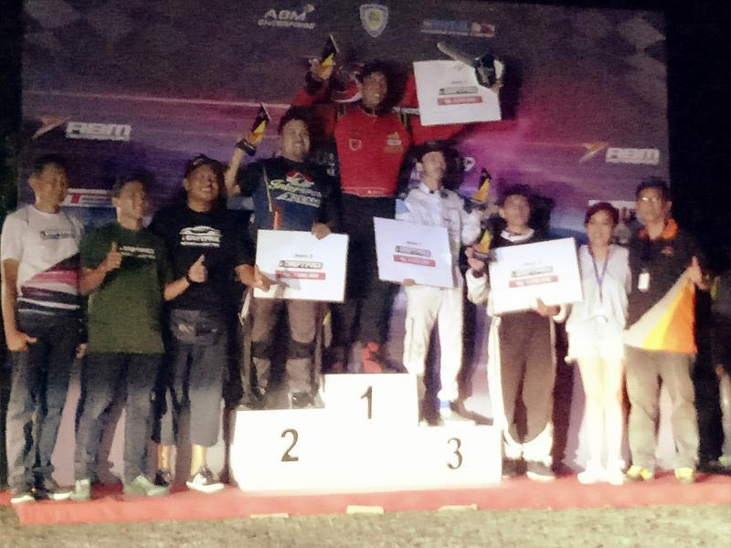 M Irdam menjuarai Indonesian Drift Prix 2019 dI Sentul